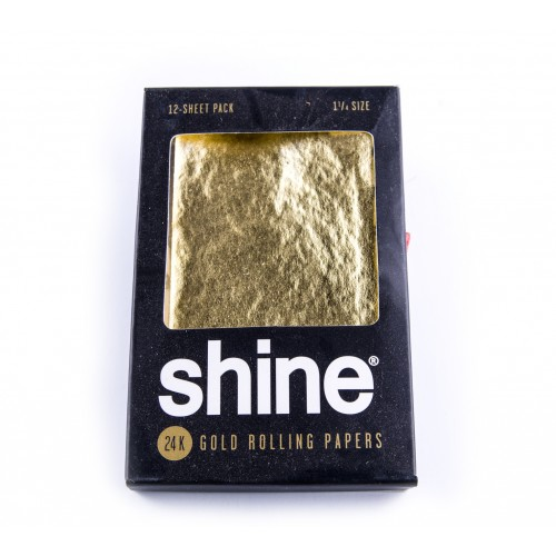 SHINE 24kt GOLD ROLLING PAPERS